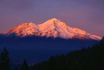 Earth Chakra 1 - Mount Shasta, North America